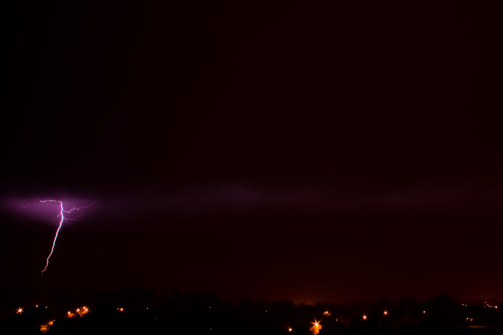 photoblog image Lightening